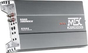 MTX Road Thunder RT604 4-channel car amplifier