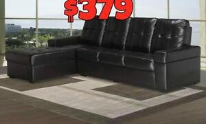 NEW YEAR  SALE ON NOW CONDO TYPE SECTIONAL JUST $379 LOWEST PRICES GUARANTEED