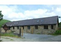 Ready to Escape to the Country? Great opporunity to buy a 3 bedroom, 2 bathroom Barn in rural Wales