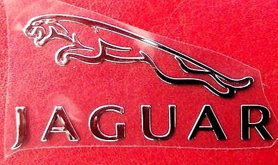 Metal Car Chrome Jaguar Decal Emblem Badge Sticker XJS XJ6 XKE XK8 XF E TYPE USA