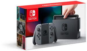 BNIB Nintendo Switch (grey) + Breath of the Wild BNIB Walmart