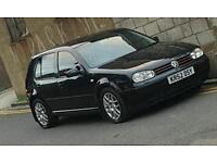 Black 2003 VW GTI Golf