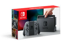 Nintendo Switch Grey and Zelda The Breath of the Wild Bundle BRAND NEW SEALED