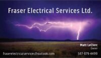 Electrical services: Service calls and troubleshooting and more