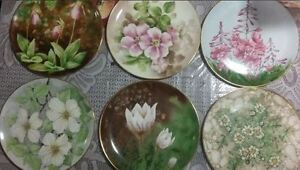 11 Provincial / Territorial Floral Emblem Collectible Plates London Ontario image 2