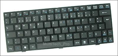 U135 Series - DE Tastatur f. Wind U135 U135DX Series - Schwarz -