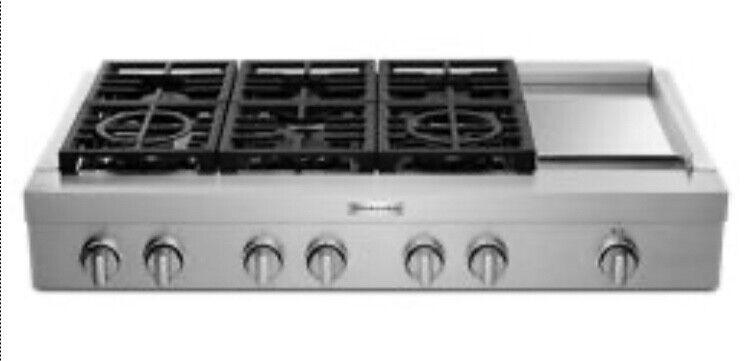 "KitchenAid 48"" Commercial / Professional Range Cooktop"