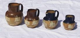 Royal Doulton Lambeth Salt Glazed Jugs