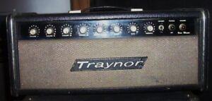 Traynor tube head and  traynor 2x15 guitar cabinate