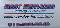 Best Services Heating & Air Ltd. (519) 455-5846