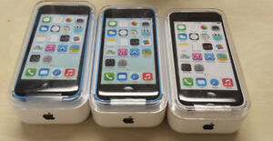 iPhone 5C 32GB (NEW) with BELL/VIRGIN