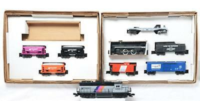 Lionel 11982 Nj Transit Ballast Train And 11822 Chevrolet Bow Tie Exp    Lot 139