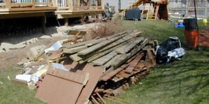 DEMOLITION, JUNK, AND GARBAGE REMOVAL