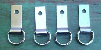 4 Saddle Concho Clip & Dee 5/8