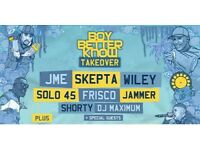2 STANDING TICKETS - Boy Better Know Takeover