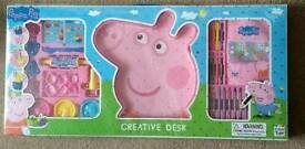 Peppa pig creativity desk
