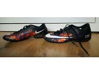 Nike Mercurial CR7 UK Size7.5 Astro Turf