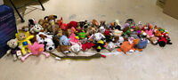 Lot 66 peluches BEANIES TY