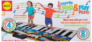 Gigantic Step and Play Piano