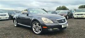 LATE 2005 LEXUS SC430 HARDTOP CONVERTIBLE 4.3 V8 AUTOMATIC GREY 4 SEATER