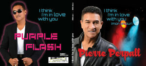 Purple Flash-Pierre  Perpall - i think i'm in love - CD & DVD