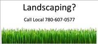 Landscaping and Sprinkler System install by Fort McMurray Locals