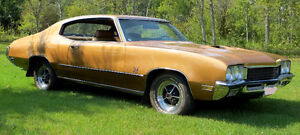 VERY RARE 1972 Buick GS 455, 2 Door Hard Top Sport Coupe.