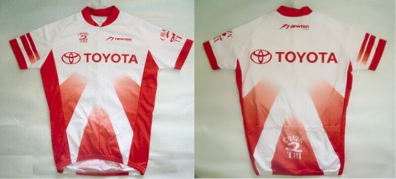 ~~~ ToYoTa CyCLing Jersey/ Shirt SiZe M (Very Tight Fit) $20~~~