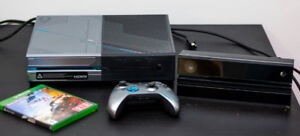XBOX One Halo 5 1TB with Kinect, Games, Controller