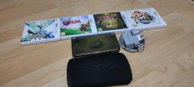 Nintendo 3DS XL Majora's Mask Edition + 5 Games