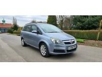 2006 Vauxhall Zafira 1.6i Club 5dr CAN DELIVER 7 SEATER LOW MILES LONG MOT GOOD