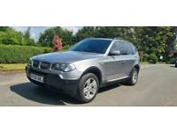 2006 BMW X3 2.0d Sport 5dr TOP SPEC A MUST SEE PX WELCOME CARDS ESTATE Diesel Ma