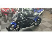 Yamaha YZF r125 with scorpion exhaust