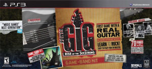 PS3 GUITAR Rise of the Six String