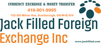 Jack Filled Inc. Money Transfer and Currency Exchange Service