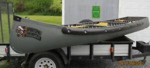 14  FT CANOE WITH ELECTRIC MOTOR
