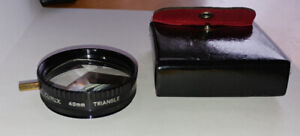 FILTER, TRIANGLE MULTI IMAGE 49MM SCREW IN FILTER WITH CASE