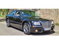 Chrysler 300c Black Automatic 2007 Service History , Leather, Navigation