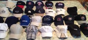 LOTS DE CASQUETTES NEUVE OU PRESQUE / CAP HATS NEW OR NEAR