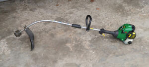 """serviced 20cc, 2 stroke, 15"""" cut WeedEater line trimmer"""