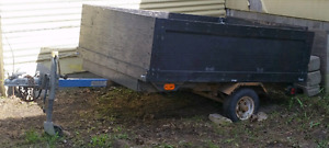 Hand Made Utility Trailer For Sale