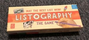 Listography game