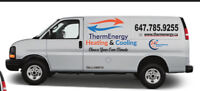 24/7  repair and installation of furnace and HWT