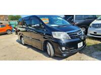 TOYOTA ALPHARD 2 BERTH CAMPERVAN WITH REAR CONVERSION AND ELECTRIC COOLBOX