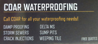 COAR waterproofing