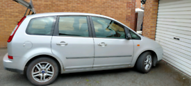 Ford C-Max 2004 1.6 diesel. Silver. Full year Mot to 2022. 19.07
