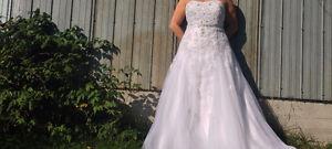 superbe robe de mariage
