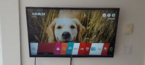 "LG 43"" 4K UHD Smart Led TV + Best Buy Warranty till 2020"