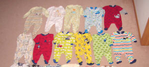 Sleepers and Boys Clothes, Snowsuit - 6, 6-12, 12, 12-18 mos.