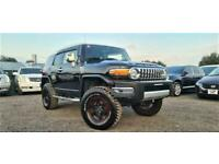 FRESH IMPORT LHD TOYOTA FJ CRUISER 4.0 V6 4WD AUTOMATIC BLACK